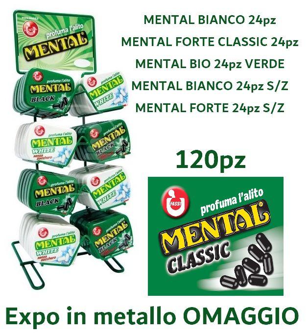 MENTAL ASTUCCIO PROMO 120pz + EXPO METALLO OMAGGIO
