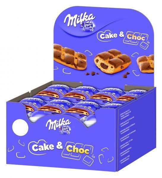 MILKA CAKE CHOCO 24pz 35gr