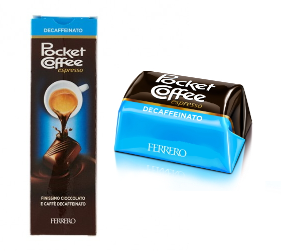 FERRERO POCKET COFFE' T5x 12pz DECAFFEINATO