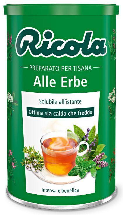 RICOLA TISANA BARATTOLO ALLE ERBE 12pz x 200gr
