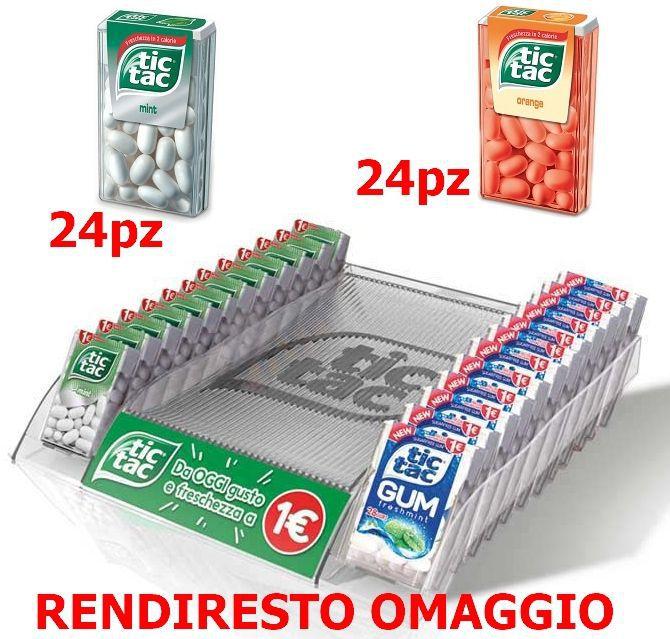 FERRERO TIC TAC EXPO 48pz RENDIRESTO OMAGGIO