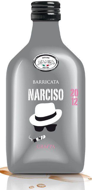MIGNON GRAPPA NARCISO  BARRICATA 40 50ml 1pz
