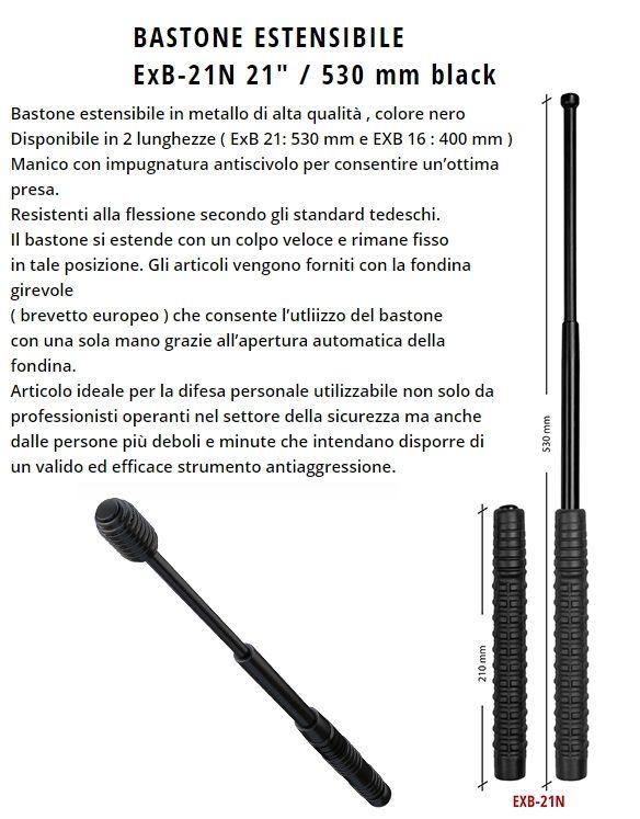 BASTONE ESTENSIBILE 21/530mm 1pz DEFENCE SYSTEM