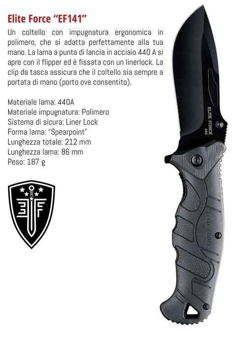 COLTELLI UMAREX WALTHER EF141 1pz DEFENCE SYSTEM
