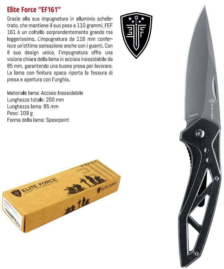 COLTELLI UMAREX WALTHER EF161 1pz DEFENCE SYSTEM