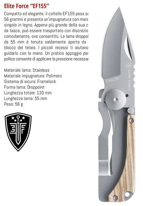 COLTELLI UMAREX WALTHER EF155 1pz DEFENCE SYSTEM