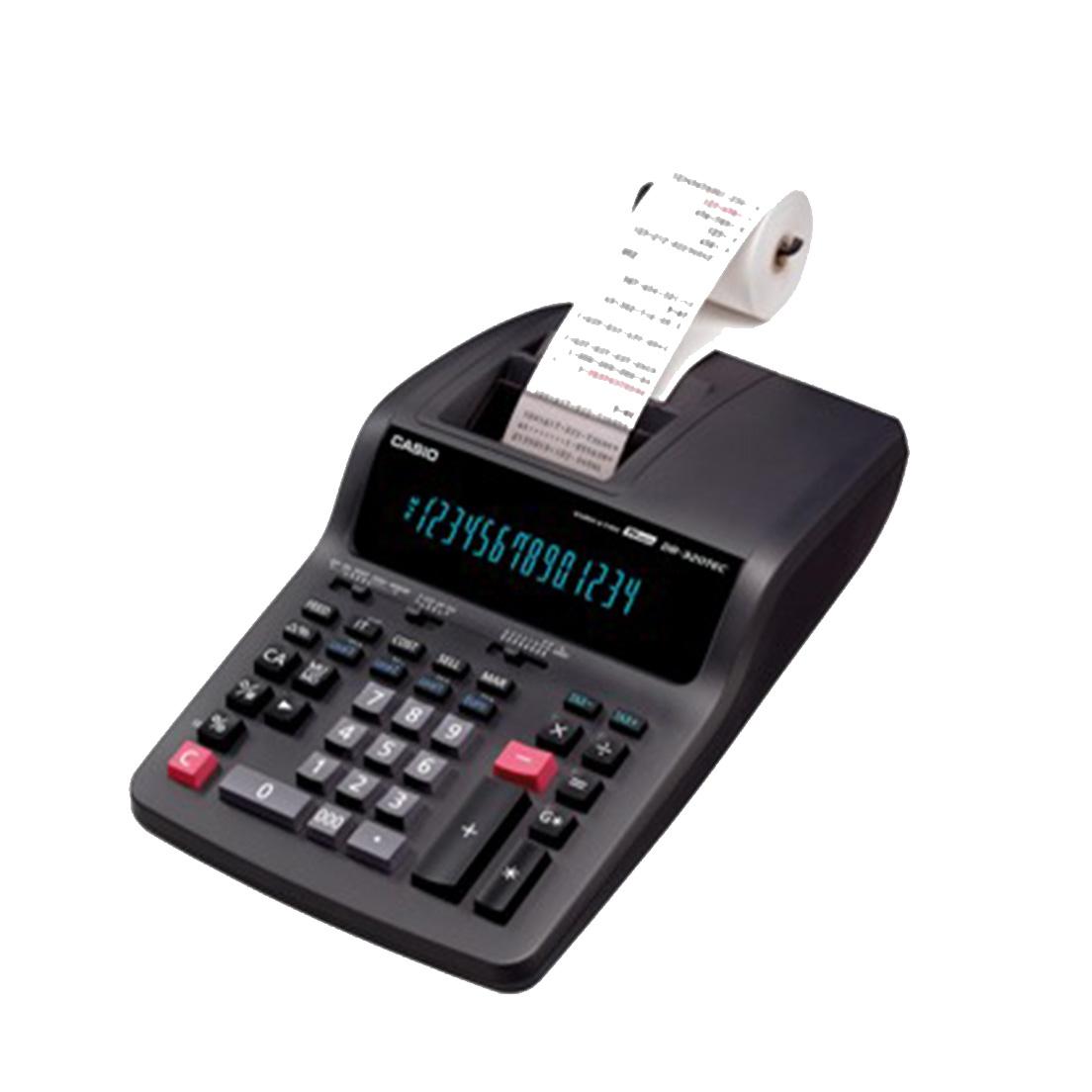 CALCOLATRICE CASIO DA TAVOLO DS320 1pz 14 CIFRE