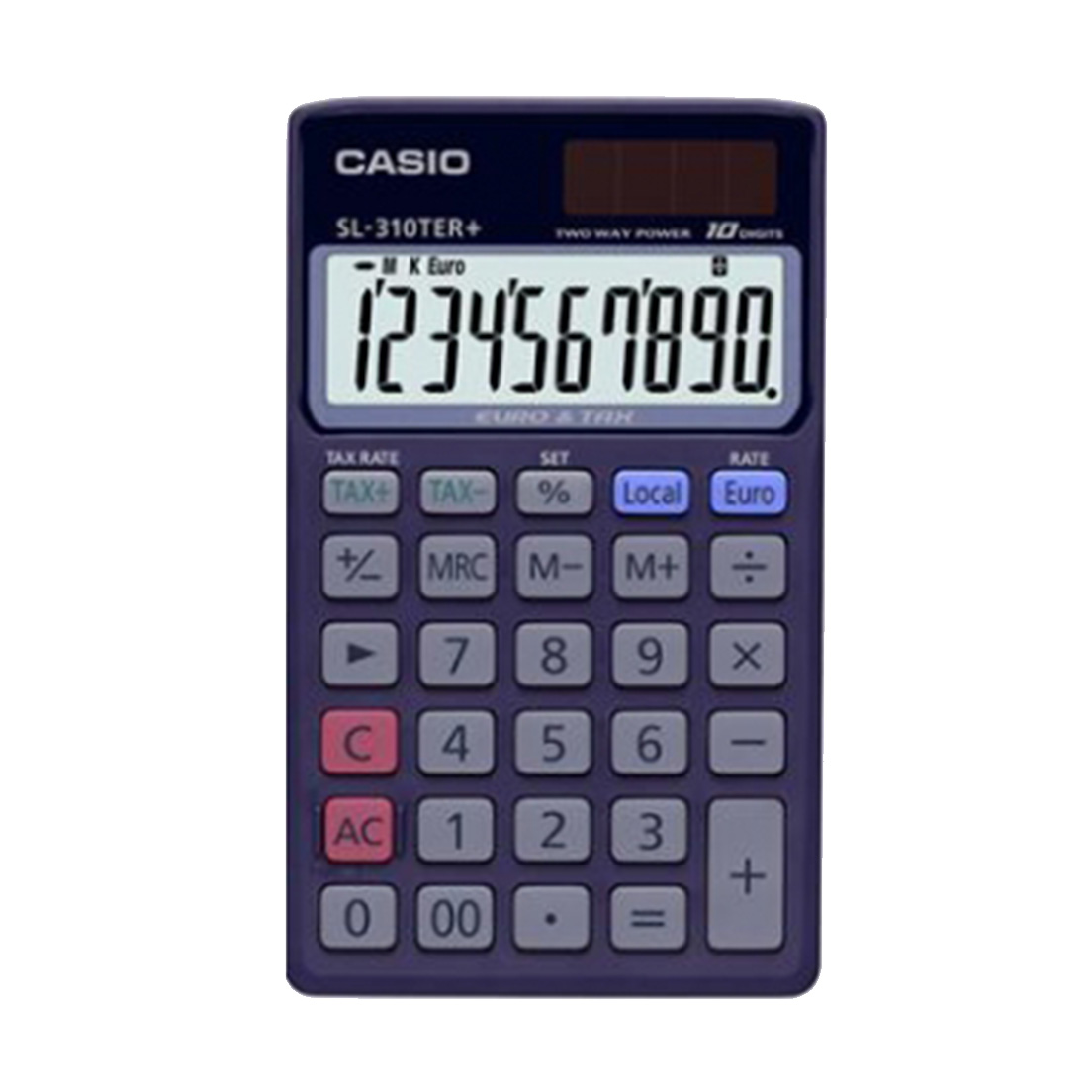 CALCOLATRICE CASIO TASCABILE SL311 1pz