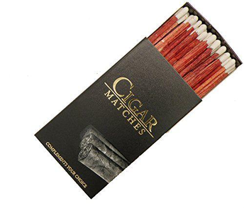 FIAMMIFERI PER SIGARI 5pz Cigar Matches DA 10cm