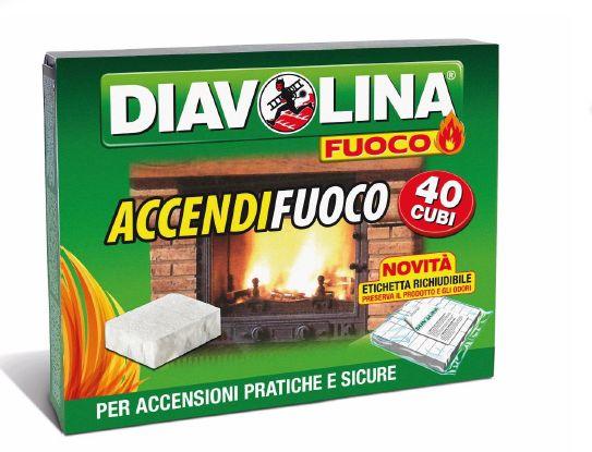 ACCENDIFUOCO DIAVOLINA ACCENDIFUOCO 40 CUBI