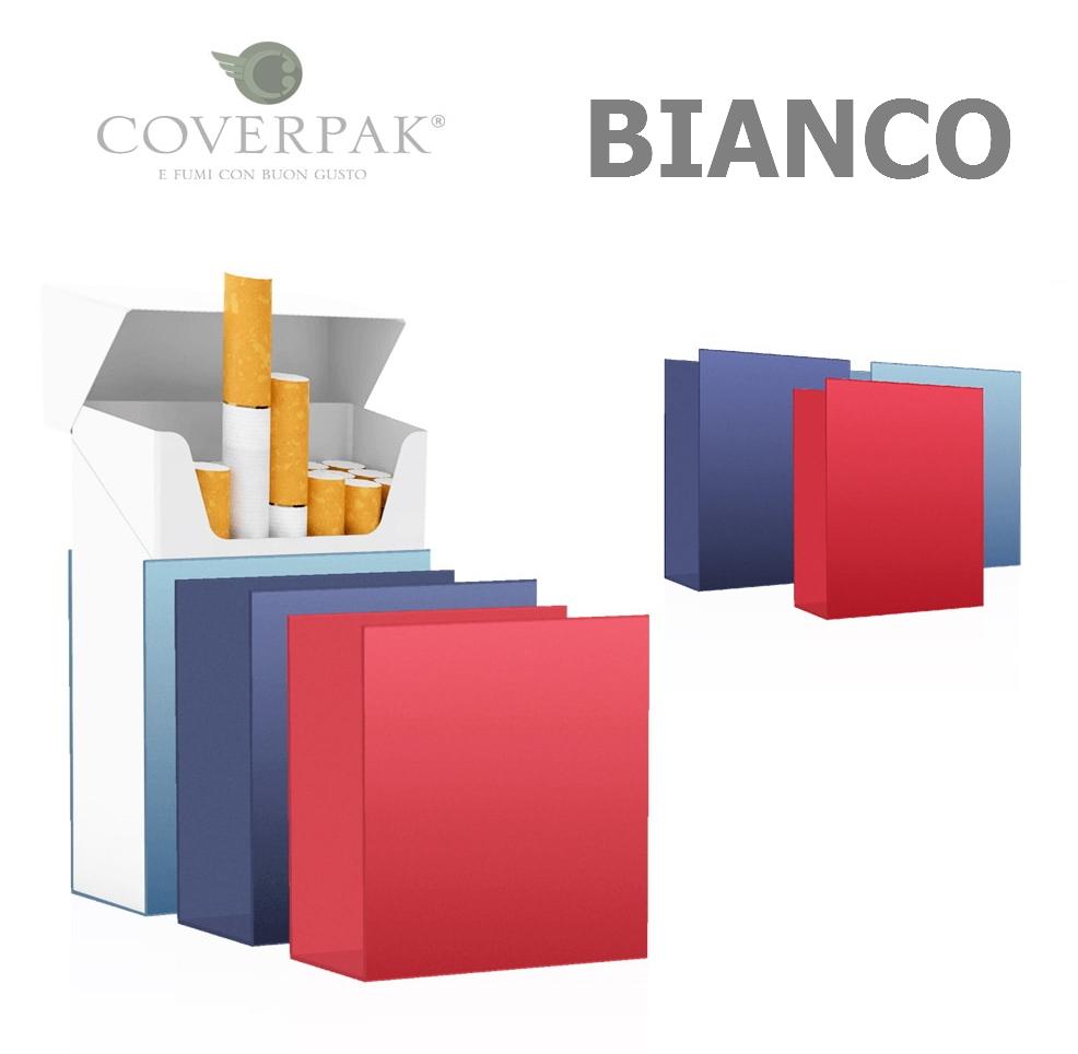 PORTAPACCHETTO COVERPAK IN PVC RIGIDA CLIP 1pz BIANCO