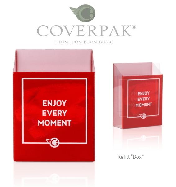 PORTAPACCHETTO COVERPAK FRASI IN PVC 20pz - BOX pacchetto NORMALE