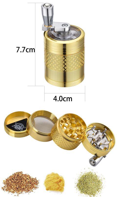 TRITATABACCO CHAMP GRINDER 40mm 1pz MINI WINDMILL
