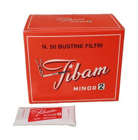 FILTRI BOCCHINI FIBAM 1x50pz MINOR 2 (per fibam 971)