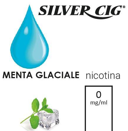 SILVER CIG E-LIQUID MENTA GLACIALE 10ml 0mg/ml - PL0009649