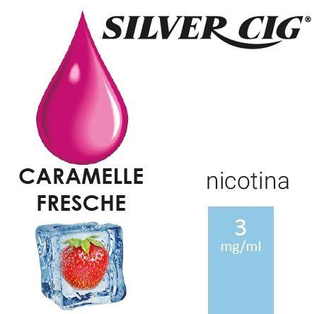 SILVER CIG E-LIQUID CARAMELLE FRESCHE 10ml 3mg/ml - PLN006044