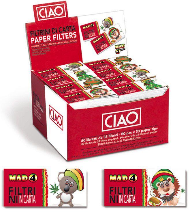 FILTRI CARTA MAD4 - 80pz RASTA FRIENDS (Acc. 9,50)-PROV-C00078010