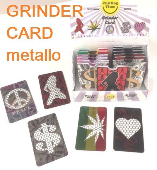 TRITATABACCO CARD GRINDER 1pz