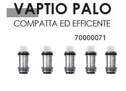 RESISTENZA COIL PALO VAPTIO RICAMBIO 0,6o 1x5pz