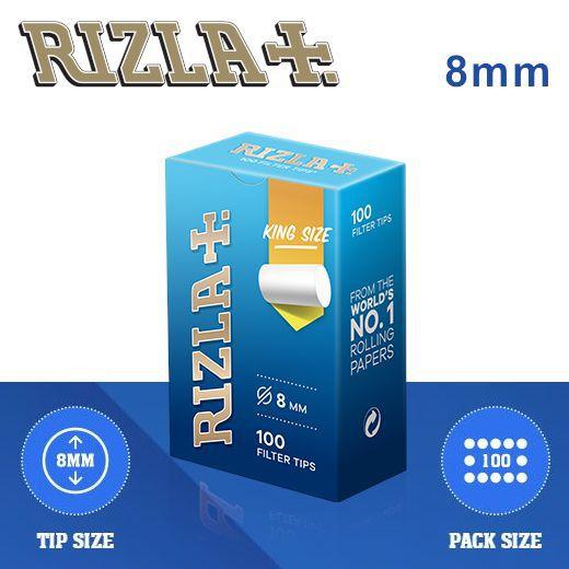 FILTRI RIZLA REGULAR 8mm 10x100pz ASTUCCIO (Acc. 3,6)-C00002005