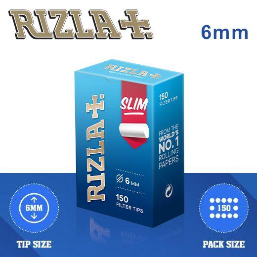 FILTRI RIZLA SLIM 6mm 10x150pz ASTUCCIO (Acc. 5,4)-C00003008