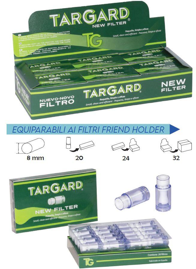 FILTRI BOCCHINI TAR GARD 1x20pz (compatibile friend holder)