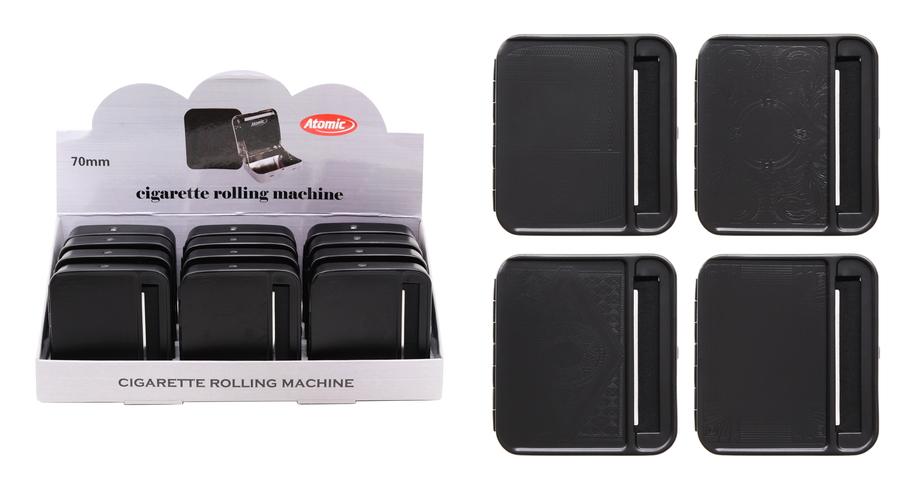 ROLLING MACHINE AUTOMATIC ATOMIC 1pz 70mm BLACK