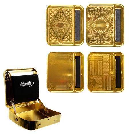ROLLING MACHINE AUTOMATIC ATOMIC 1pz GOLD METAL