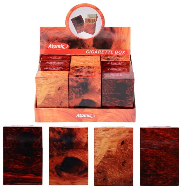 PORTAPACCHETTO SIGARETTE PVC RIGIDO 1pz 85mm per 20 sigarette COLORIA ASSORTITI