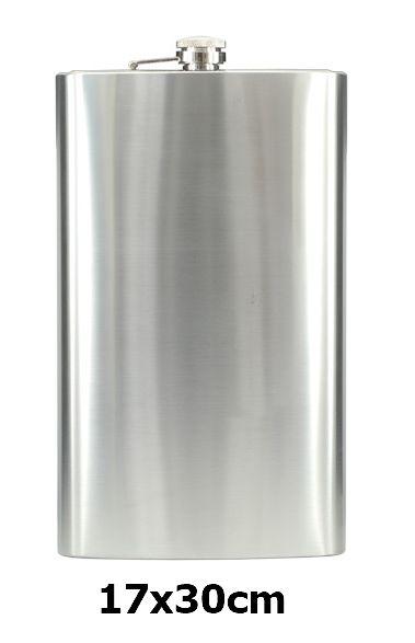 FIASCHETTA CONEY XL 17x30cm 63oz 1pz CROMO ACCIAIO