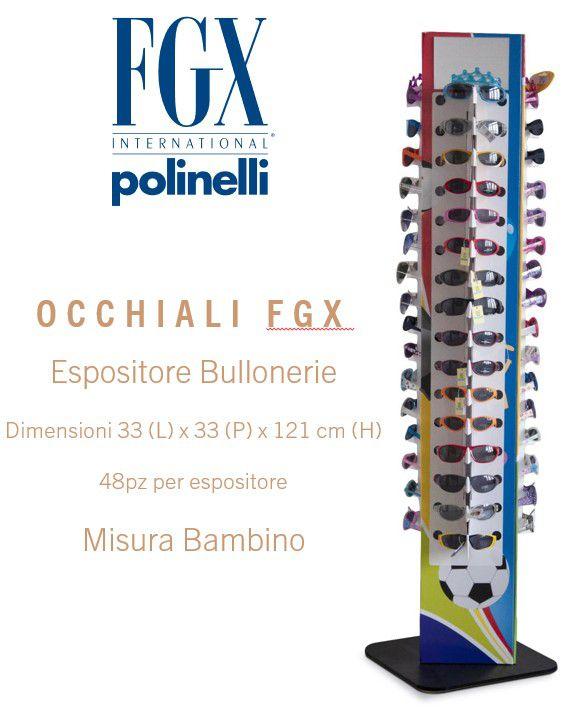 OCCHIALI FGX SOLE BAMBINO EXPO 48pz SUNGLASSES - EXPO DA TERRA