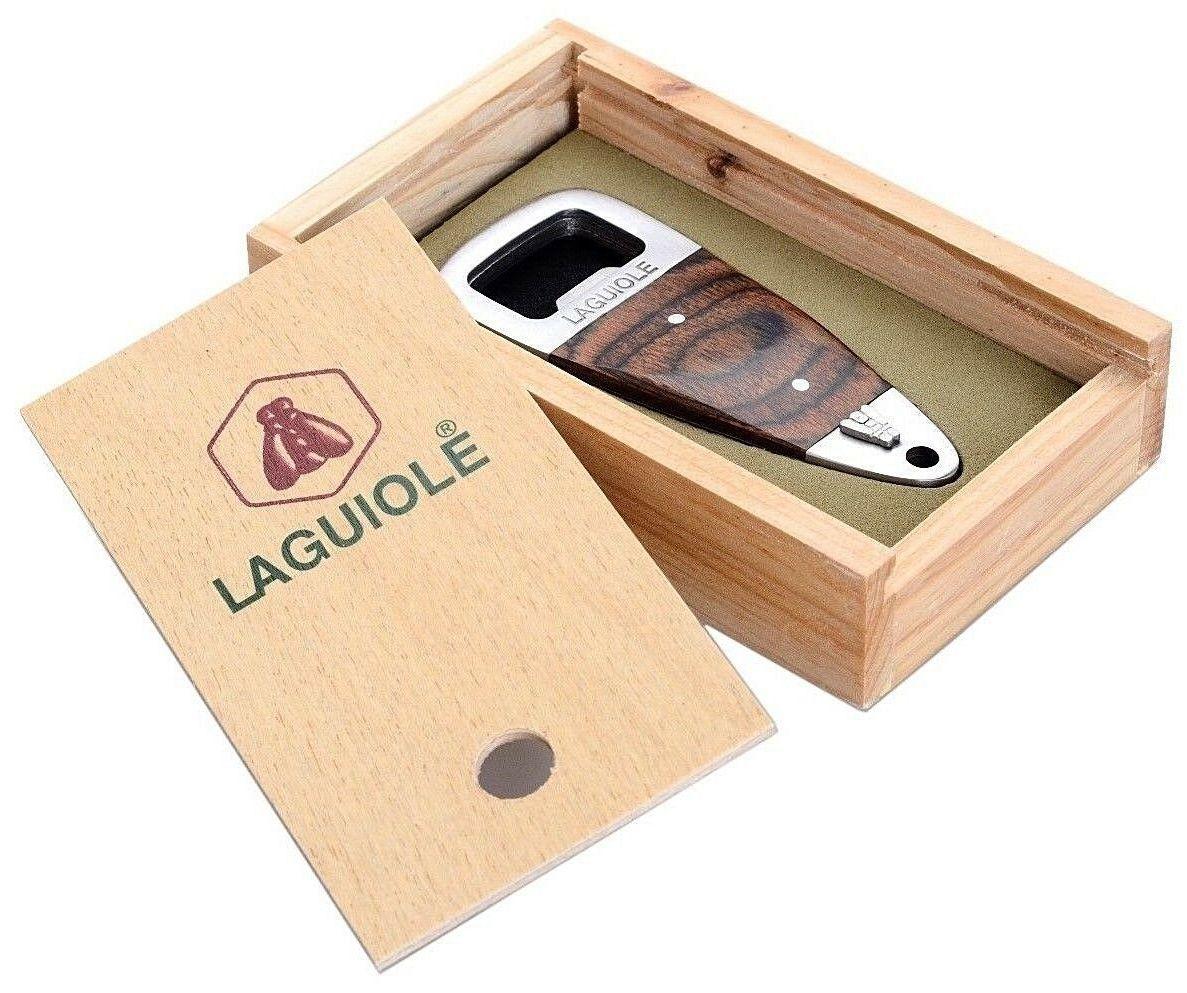 LAGUIOLE APRIBOTTIGLIE EBONY WOOD BOXED 1pz - LG2020X