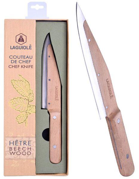 LAGUIOLE COLTELLI CHEF WOODEN KNIFE FRECHE 1pz - LGXX