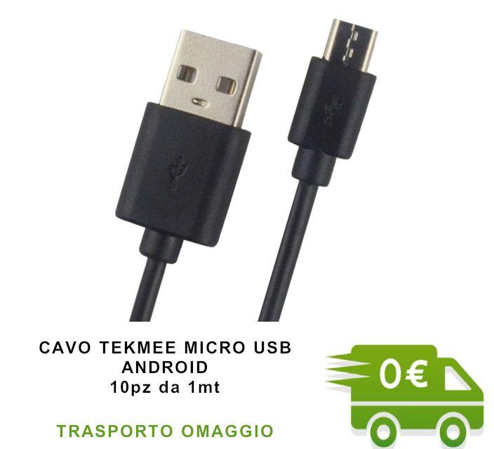 CAVETTO USB MICRO ANDROID PROMO composta da:------