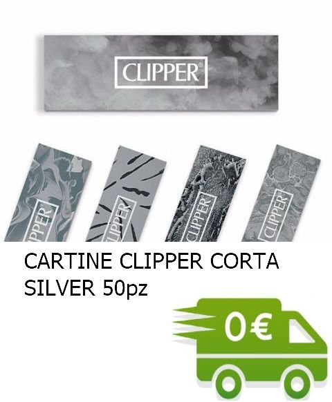 CARTINE CLIPPER CORTA SILVER PROMO composta da:------