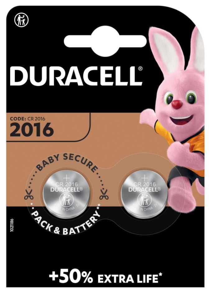 PASTIGLIE DURACELL 2016 3v 2x 1pz