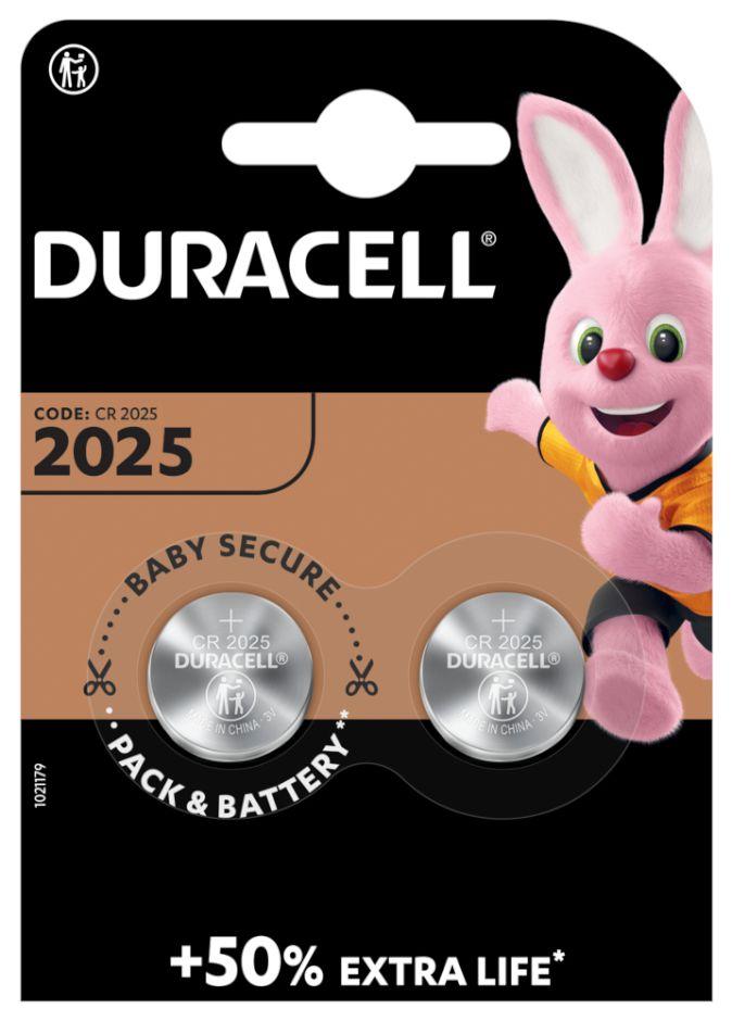 PASTIGLIE DURACELL 2025 3v 2x 1pz