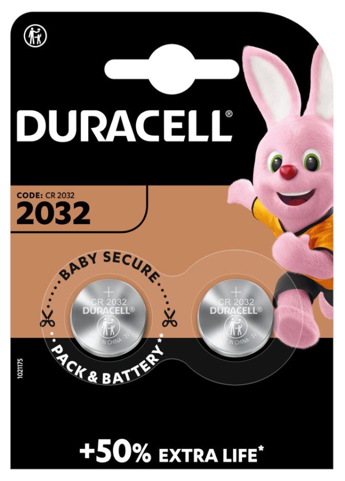 PASTIGLIE DURACELL 2032 3v 2x 1pz