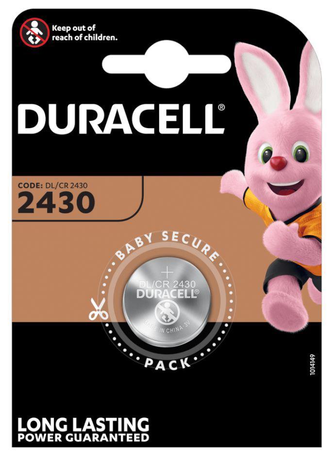 PASTIGLIE DURACELL 2430 3v 1x 1pz