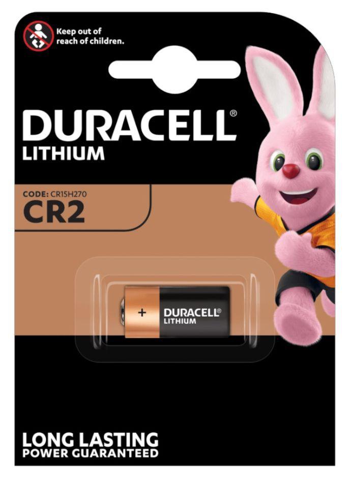 BATTERIE DURACELL CR2 3v 1x 1pz