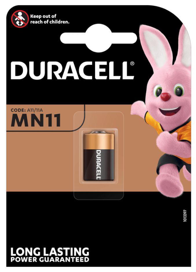 BATTERIE DURACELL MN11 6v 1pz