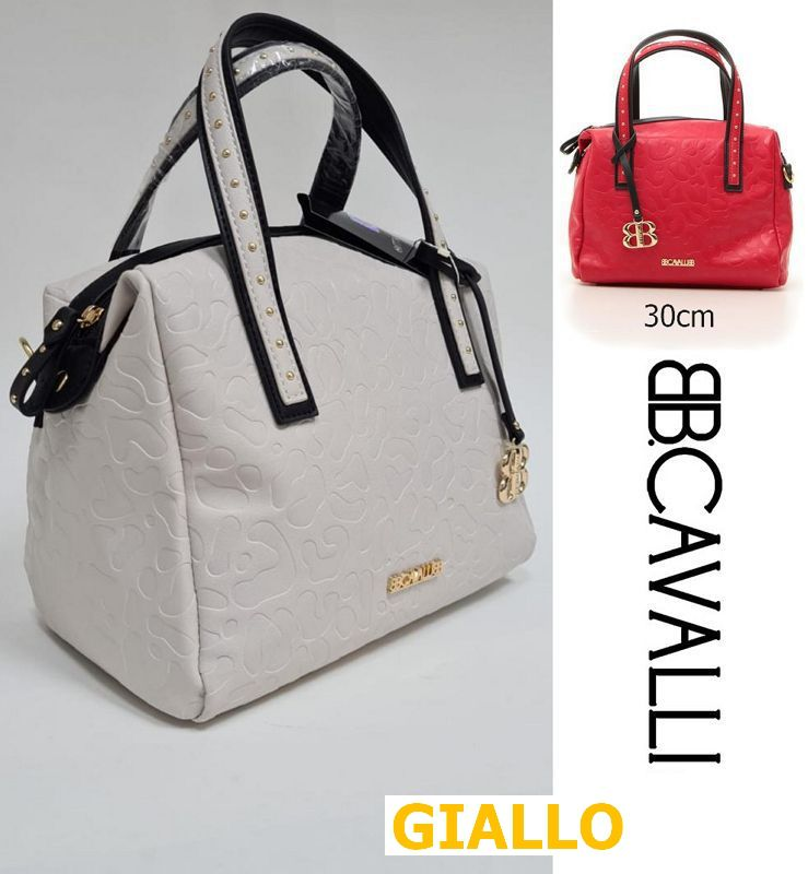 BORSA B. CAVALLI ALBY-002 GIALLO 1pz SINTETICO