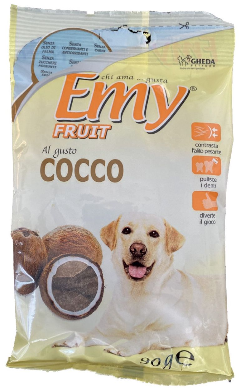PET FOOD BON BON COCCO 10pz 90gr DOG LIFE