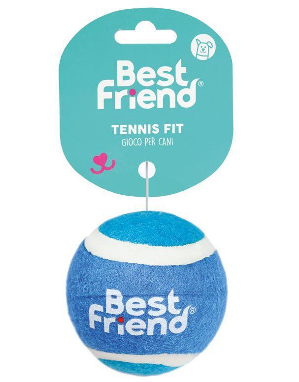 PET GIOCHI ANIMALI pallina tennis 6,4cm 1pz BEST FRIEND