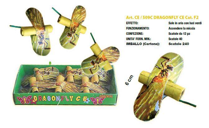 DRAGONFLY 40 SCATOLE DA 12pz  - 10,8gr. FIRESTAR - 2020