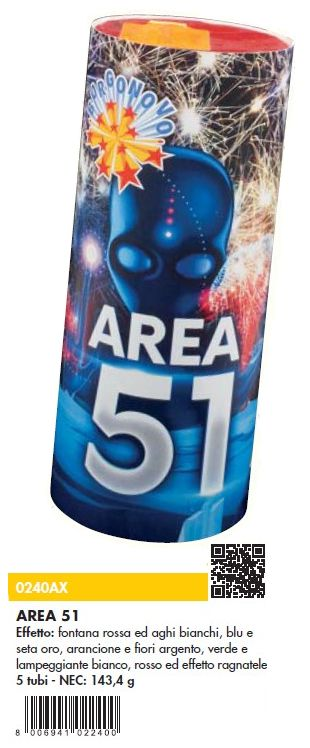 FONTANA AREA 51 1pz BORGONOVO