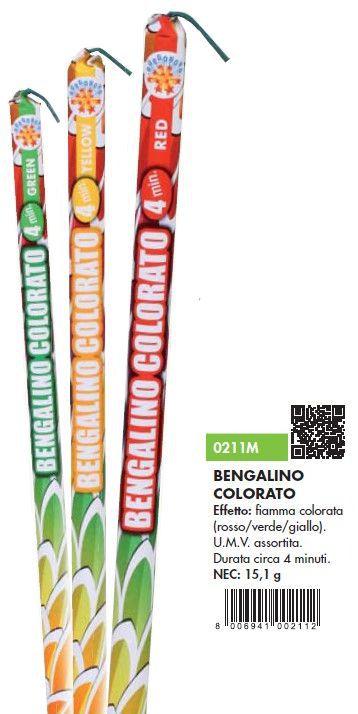 BENGALINO COLORATO 6pcs x5pz BORGONOVO