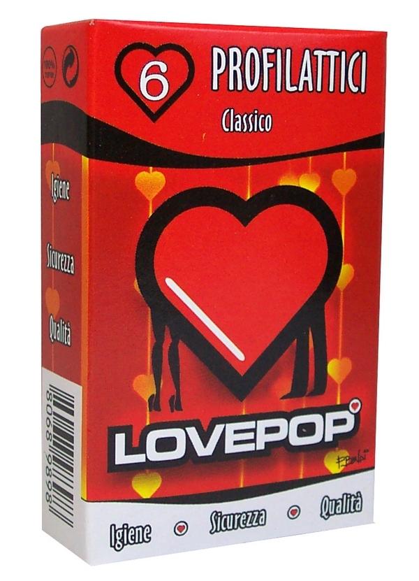 PRESERVATIVI LOVEPOP NORMALE 6pz