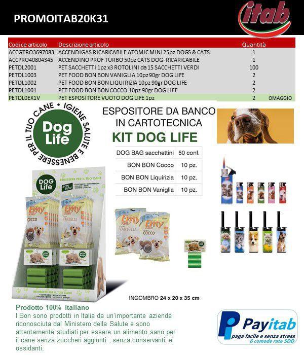 PROMOZIONE ITAB N.31/20 - PET DOG