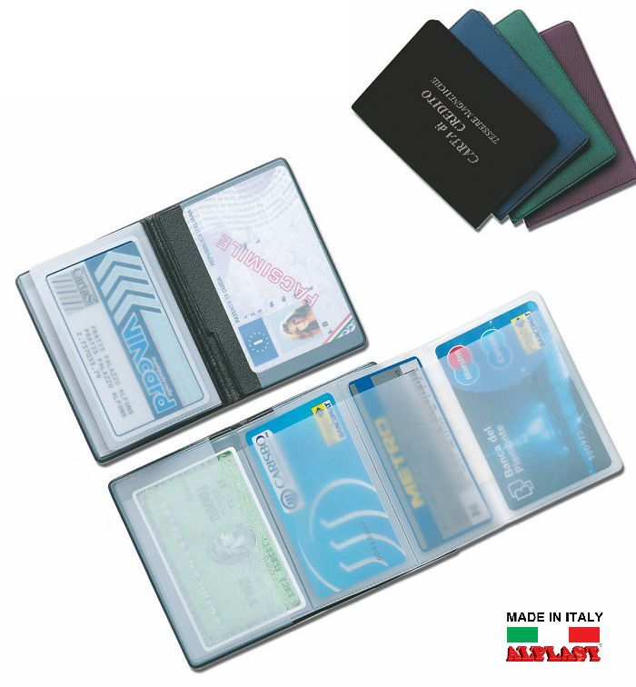 PORTA CARDS MORBIDO 24pz 5T ALPLAST